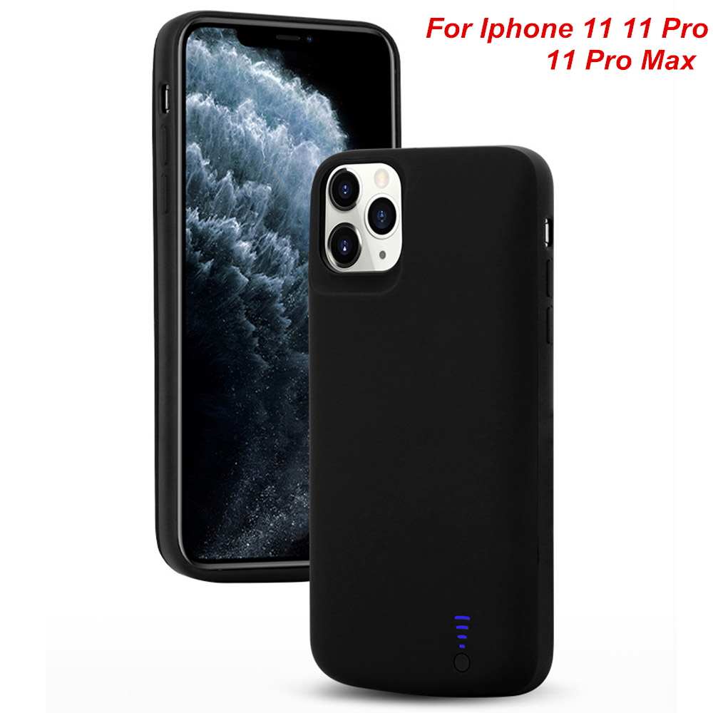 For Iphone 11 11 Pro 11 Pro Max Battery Case Smart Audio Output Battery Charger Cover For Iphone 11 Pro Max Power Case Bank