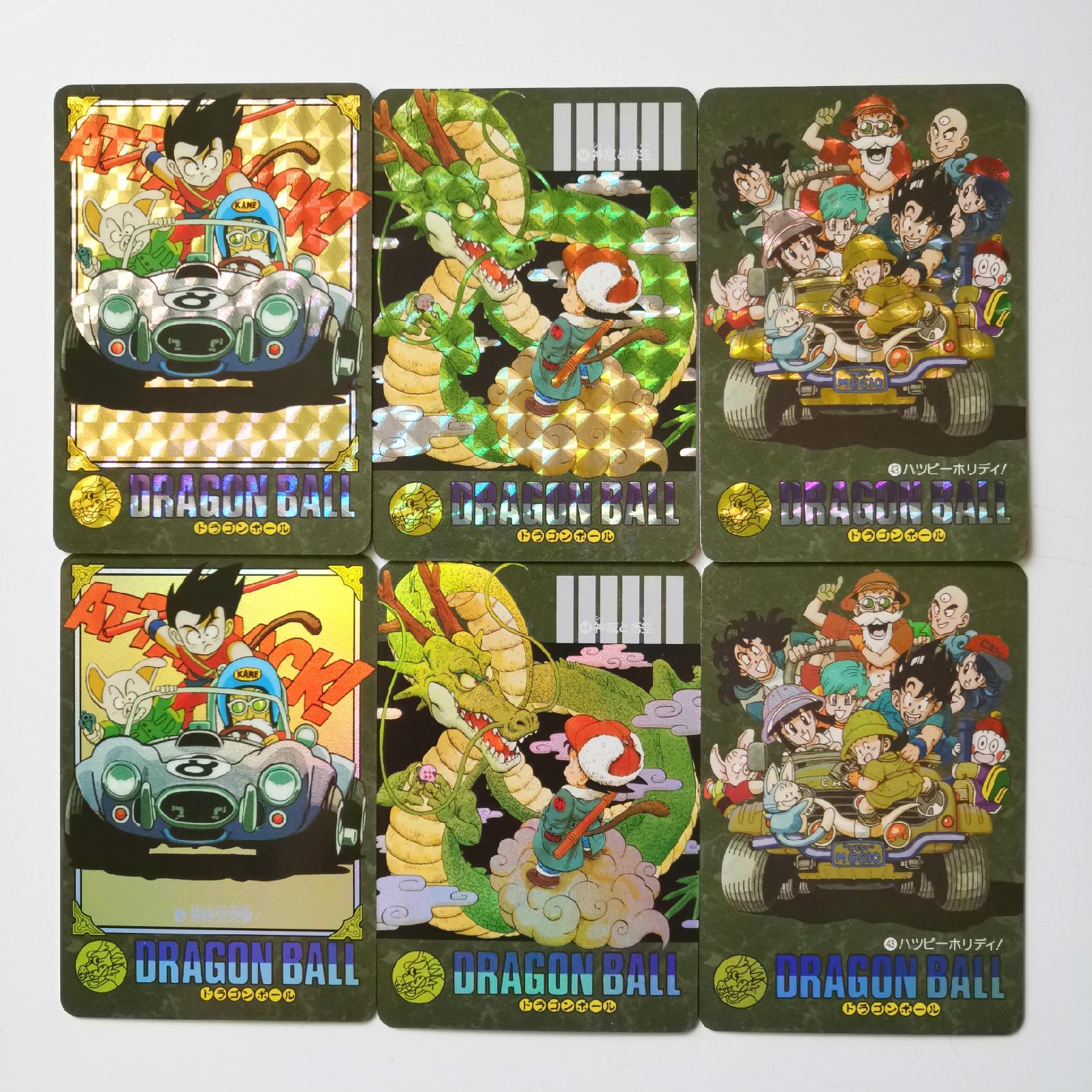 44pcs/set Super Dragon Ball Z Storm Clouds Heroes Battle Card Ultra Instinct Goku Vegeta Game Collection Cards