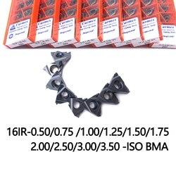 16IR 0.75 1.00 1.25 1.5 2.0 ISO wysokiej jakości gwintowania wkładki narzędzia tokarskie do płytki z węglika wolframu|Narzędzia tokarskie|Narzędzia -