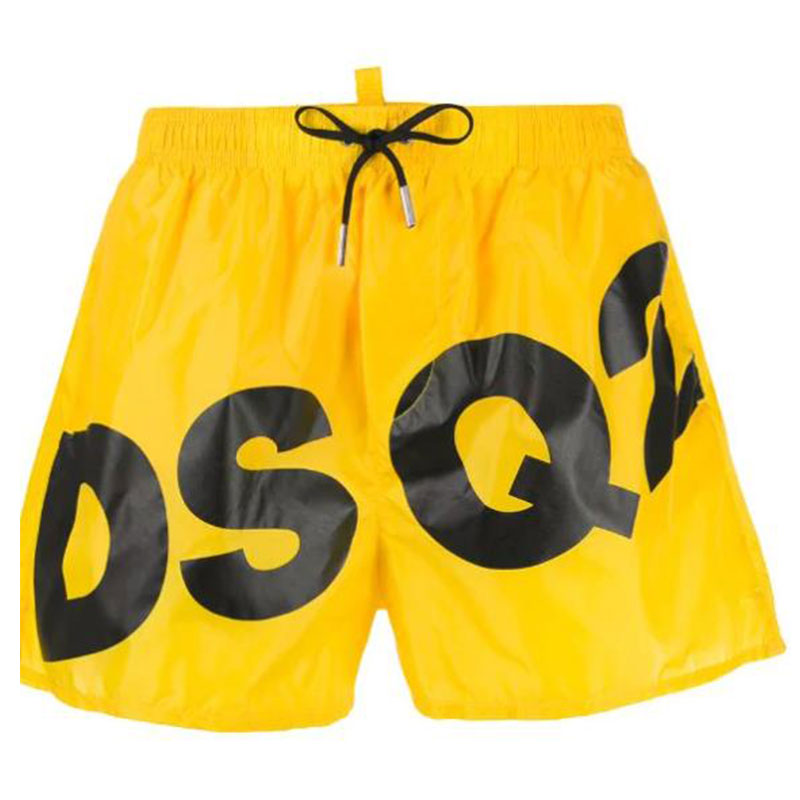 Summer new trend brand DSQ2 sweat-absorbent quick-drying shorts men's beach sports outdoor fitness running basketball pants
