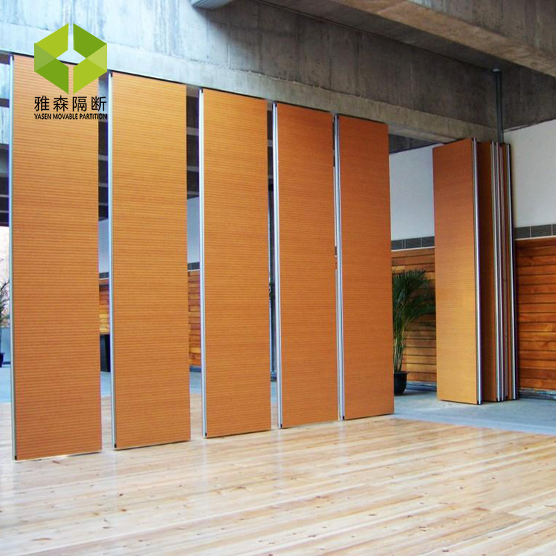 Manufacturers Direct Selling Hotel Only Movable Partitioning Wall China Mobile Subareas Screens Acoustic Absorption Folding Door
