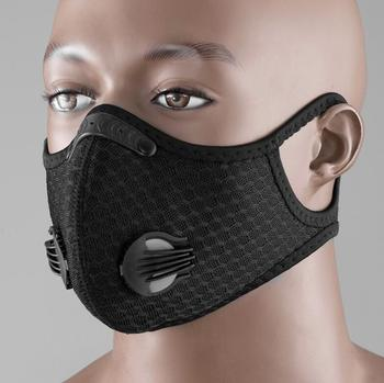 5 Layer pm2.5 Activated Carbon Protection Dust Mask for Cycling Bike Bicycle Masks Dust Pollution Mask Filter Anti-dust