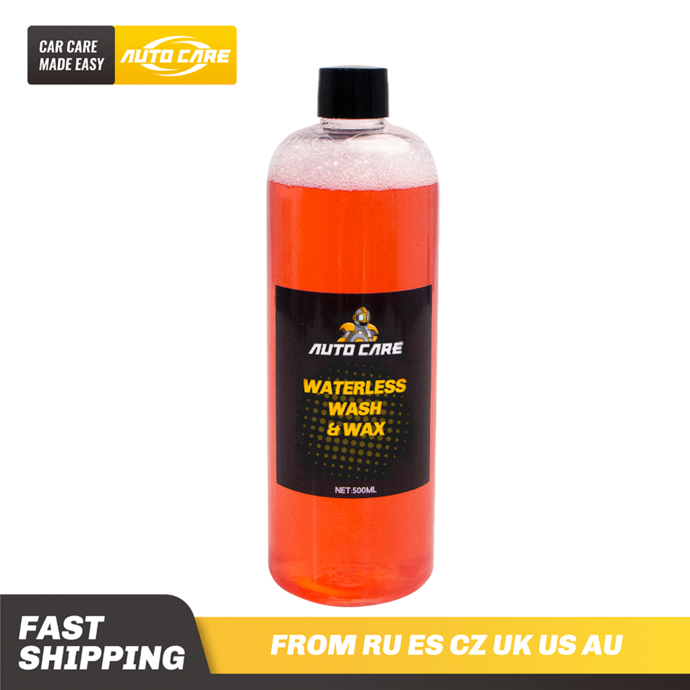 500ml Waterless Car Wash And Wax Concentrated 1:300 Snow Foam In A Foam Cannon Or Foam Gun