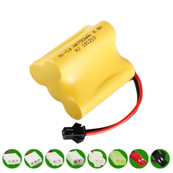 4V 700mAh NI-CD Battery for RC Toy Electric toy security facilities electric toy AA battery 4 v battery group SM/EL-2P/JST/PlUG image