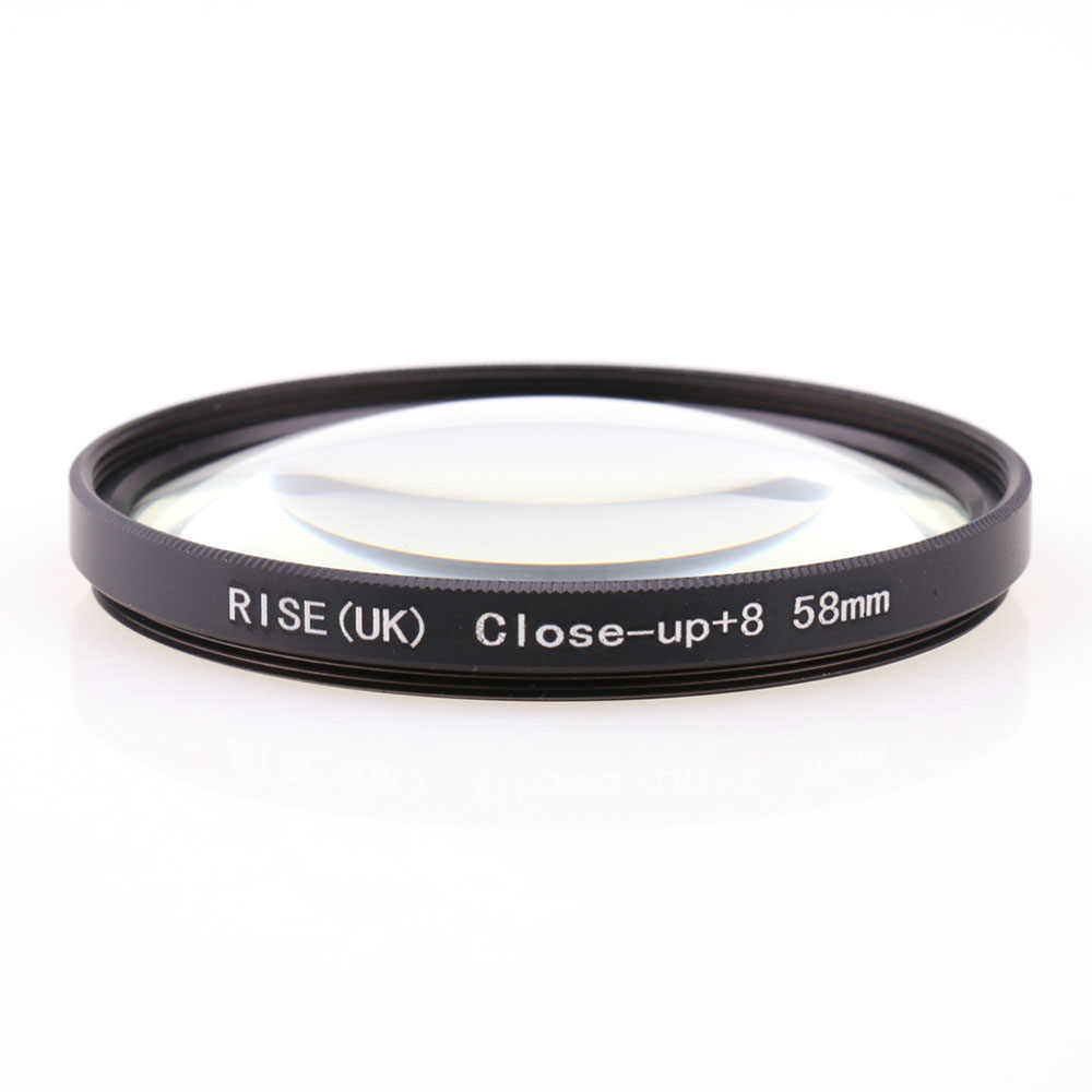 Naik (Inggris) 58 Mm Close-Up + 8 Makro Filter Lensa untuk Nikon Canon SLR DSLR Kamera