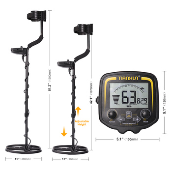 TIANXUN TX-850 Professional Metal Detector Underground Depth 2.5m Scanner Search Finder Gold Detector Treasure Hunter Pinpointer 1