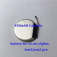 מקורי rechargable סוללה עבור lem5 x5 אוויר smart watch backcover מתכת כיסוי טעינת dock כבל מטען עבור lem5 פרו x5 בתוספת