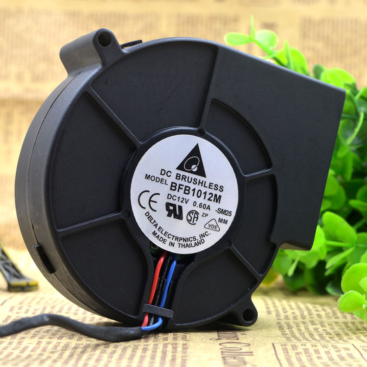 Delta BFB1012M <font><b>9733</b></font> <font><b>12V</b></font> 0.85A Oven Grill Barbecue Machine Turbo <font><b>Fan</b></font> <font><b>Blower</b></font> image
