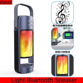 Light Wireless Bluetooth Speaker IP65 Waterproof Speaker Support TF Card SBC MP3 AAC Outdoor Handsfree Speaker 3D Bass