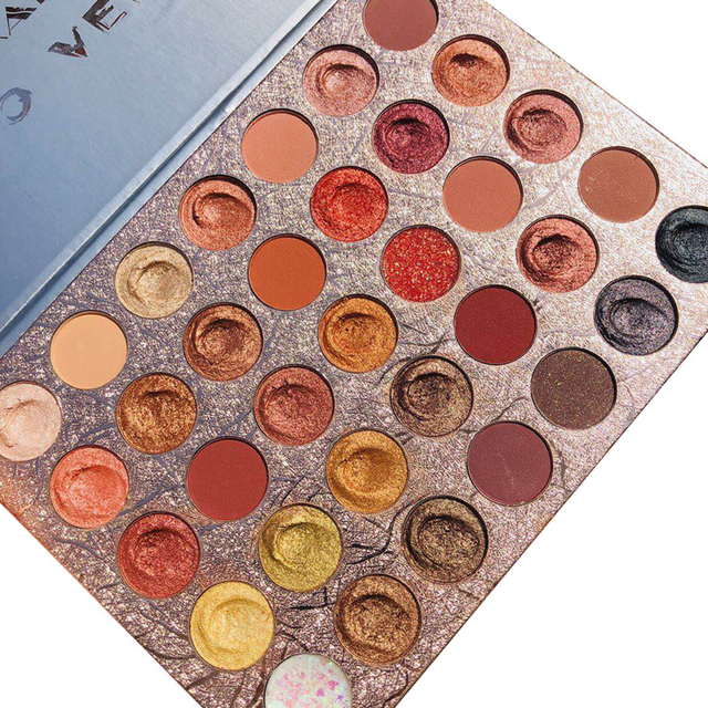 Doradosun 35 Colour Eyeshadow Water-proof Eyeglitters Beads Light Long Lasting Makeup Eyeshadow Pallete 1