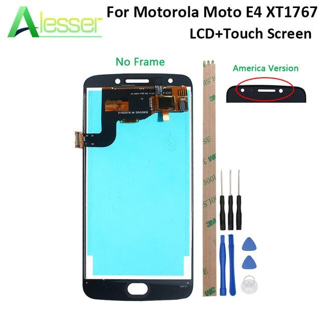 Alesser pour Motorola Moto E4 XT1767 écran LCD et écran tactile numériseur assemblée remplacement avec outils et adhésif