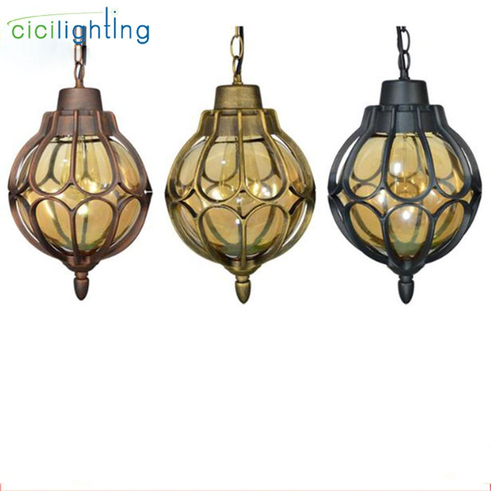 Light Vintage Pathway Pendant Lamp