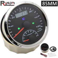 Alarm Odometer Over-Speed-Buzzer Universal 85mm 120km/H with 0-8000RPM Left Right High-Beam