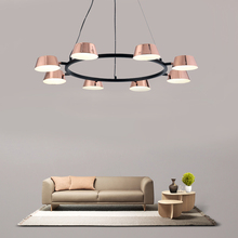 Modern Living Room Rotatable Chandelier Creative Dinning Room Chandelier Lighting  Indoor Vintage Hanging Light Fixture