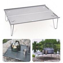Outdoor Table Ultralight Folding Picnic Beach-Fishing Camp Aluminum-Alloy BBQ