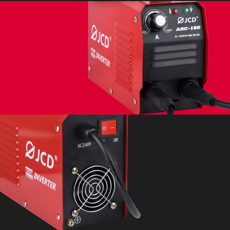 Amp 220V 160 DC LCD Digital Machine Welder MMA Beginners IGBT Home DIY JCD Welding Inverter Adjustable For Welder 200 Welder ARC