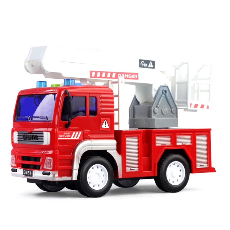 Inertia Toy 550abc Educational Toy Inertia Fire Truck Storytelling Music CHILDREN'S Toy Car