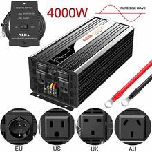 4000W Pure Sine Waveอินเวอร์เตอร์พลังงานแสงอาทิตย์DC 12V 24V 48V To AC 110V 220Vดิจิตอล