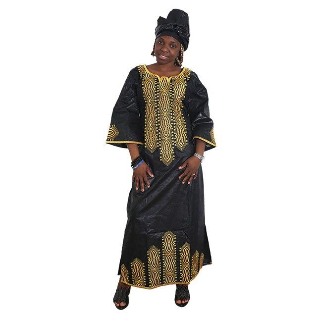 MD 2020 여성을위한 새 드레스 아프리카 롱 드레스 bazin dashiki 의류 웨딩 파티 드레스 전통 플러스 사이즈 복장