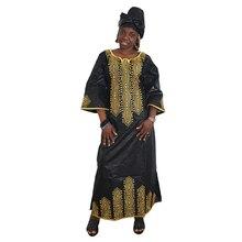 MD 2020 فساتين جديدة للنساء فستان طويل الأفريقي بازان dashiki ملابس الزفاف فستان الحفلات التقليدية حجم كبير الملابس