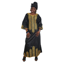 MD 2020 new dresses for women african long dress bazin dashiki clothes wedding party dress traditional plus size attire