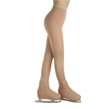 Dzieci w łyżwiarstwie figurowym rajstopy Footed rajstopy spodnie w kolorze czarnym All-inclusive dla wysokości od 110 do 165cm tanie i dobre opinie Pasuje prawda na wymiar weź swój normalny rozmiar CN (pochodzenie) Finetex Termiczne SA0182 NYLON