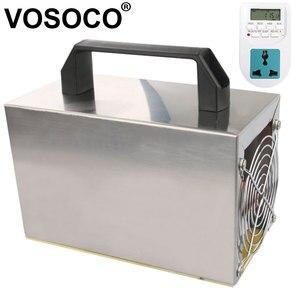 Image 2 - 36 g/h אוזון מחולל אוזון מכונה נקי חיטוי עיקור ניקוי פורמלדהיד 220V