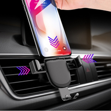 Car Phone Holder In Car Air Vent Mount Stand No Magnetic Mobile Phone Holder Universal Gravity Smartphone Support Accessories universal phone holder for phone in car air vent mount stand no magnetic mobile car phone holder gravity smartphone cell support