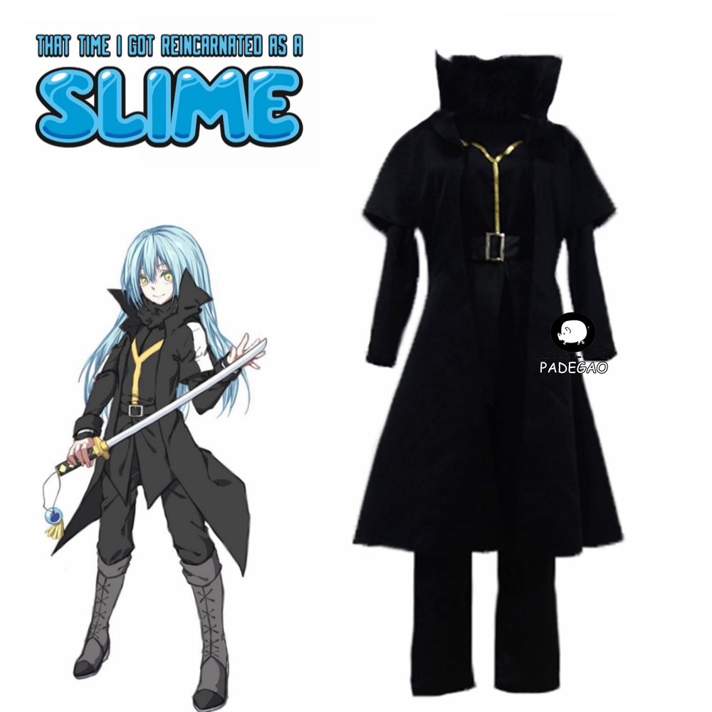 That Time I Got Reincarnated as A Slime Rimuru Tempest Cosplay Costume
