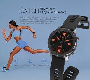 Image 3 - En Stock Amazfit GTR Lite 47mm Smart Watch versión Global 24 días batería con 5ATM impermeable AMOLED pantalla para Android IOS