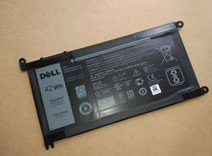 Battery Dell for Inspiron 15-5568/5567/7560/.. WDX0R T2JX4 42wh Original
