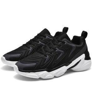 Image 2 - Zapatos deportivos De talla grande para Hombre, zapatillas De deporte masculinas informales, transpirables, con aumento De altura, 46