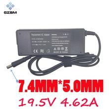 GZSM 19.5V 4.62A 7.4*5.0MM AC Laptop power Supply For Dell E6320 E6330 E6400 E6410  adapter E6420 E6430  Laptop Charger genuine original battery 5dn1k 71r31 97wh for dell e6420 e6320 e6400 e5420 e6430 e6220 e6520 e6500 laptop free shipping