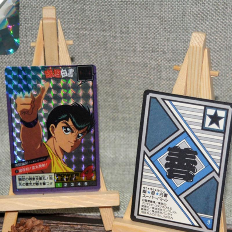 46pcs/set YuYu Hakusho Yuusuke Urameshi Fleeting Shadow Fighting 1 Toys Hobbies HobbyCommemorative Edition Collection Cards