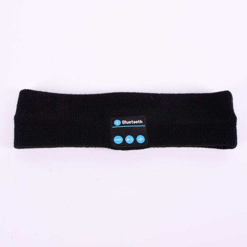 Bluetooth Music Headband Knits Sleeping Headwear Headphone Speaker Headset