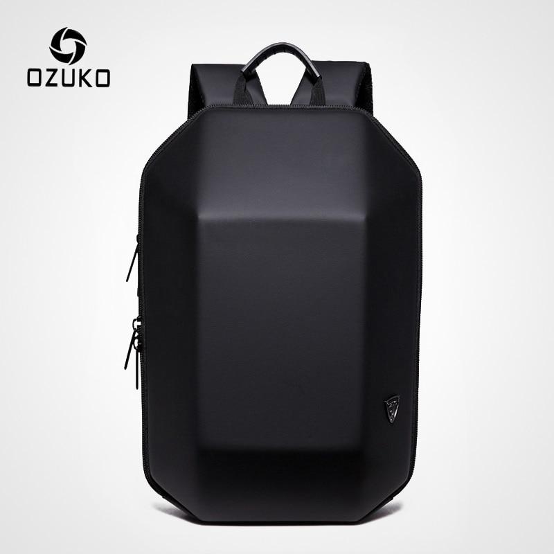 OZUKO Brand Fashion Men's Backpack Waterproof Laptop Backpacks Casual School Bags For Teenager Boy Male Travel Bag Women Mochila