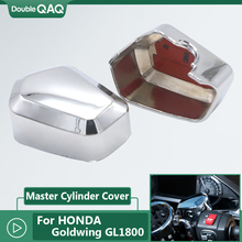 цена на Motorcycle chrome front brake master cylinder cover for Honda Goldwing 1800 F6B GL1800 2018 2019 2020