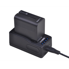 1x 7200mAh NP-F970 NP-F960 NP F970 NP F960 Battery + Ultra LED Rapid Battery Charger For SONY F930 F950 F770 F570 NP-F750 NPF770