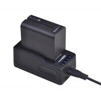 1x7200 mAh NP-F970 NP-F960 NP F970 NP F960 Batterie + Ultra LED Schnelle Batterie Ladegerät Für SONY F930 f950 F770 F570 NP-F750 NPF770