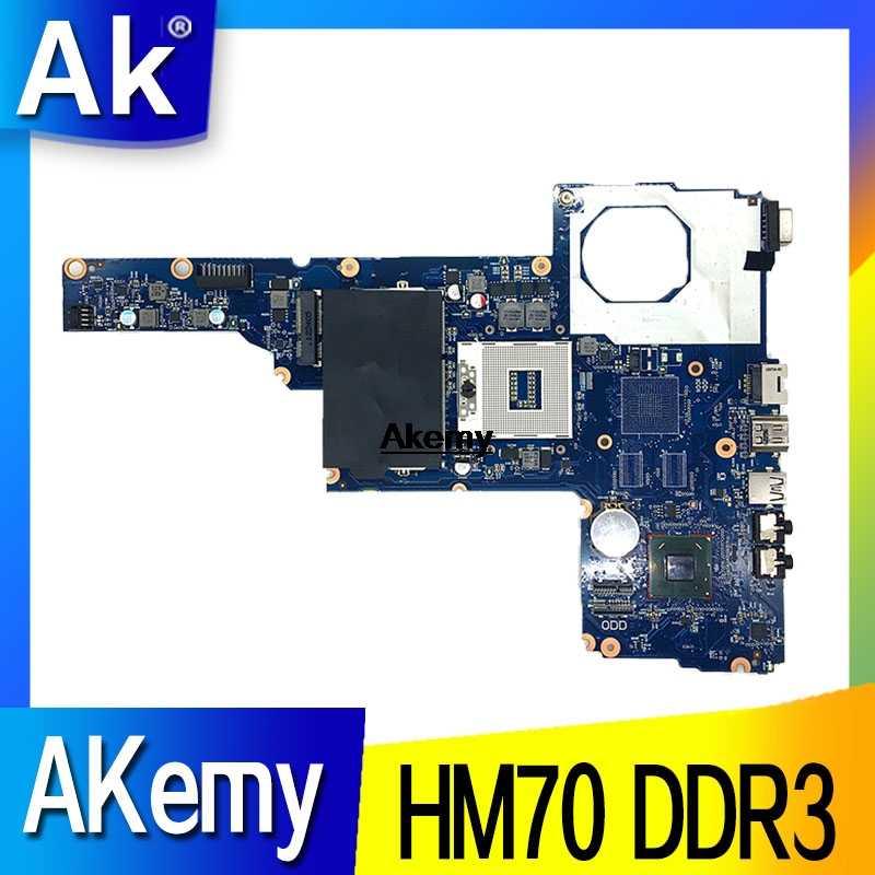 685783-001 685783-501 6050A2493101-MB-A02 ل HP 2450 1000 2000 CQ45 اللوحة المحمول HM70 UMA DDR3
