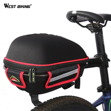 WEST BIKING Cycling Bike Bicycle Bag For MTB Mountain Waterproof Saddle Frame Front Bags Accessories