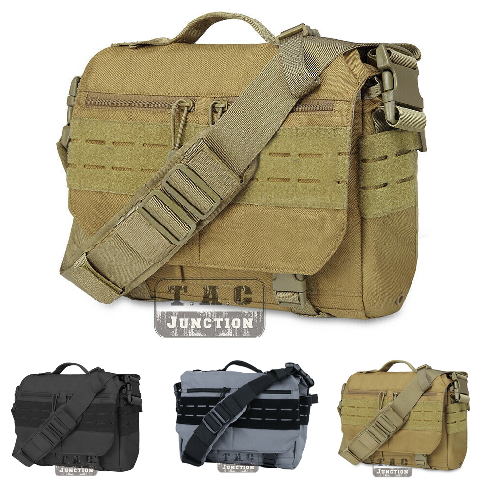 Tactical Messenger Bag EDC Sling Pack MOLLE Shoulder Bag Laptop Camera Handbag