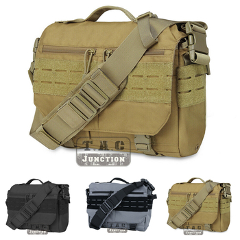 Tactical Messenger Bag EDC Sling Pack MOLLE Shoulder Bag Laptop Camera handbag