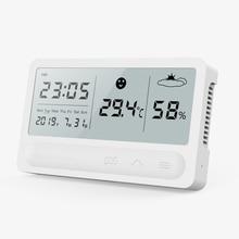 PANDUN פשוט חכם בית דיגיטלי טמפרטורה אלקטרונית ומד לחות ביתי מדחום מקורה יבש מדדי לחות