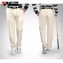 PGM летние штаны для гольфа осенние мужские полиэфирная суконная ткань полная длина водонепроницаемые брюки размера плюс XXS-XXXL толщина умеренная