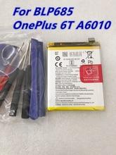 Batterie de remplacement pour Oneplus 6T BLP685, 3700mAh, originale