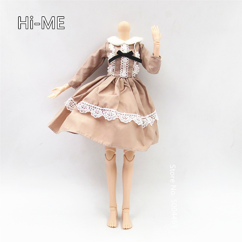 BJD Doll Accessories Dress Clothes For 42cm Doll Joint Doll Dress Up Doll Toy Gift For Girls Bjd 1/4 Clothes