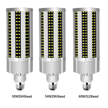 60W Super Bright Corn LED Light Bulb with E27 Large Mogul Base Adapter for Area Commercial Ceiling Lighting