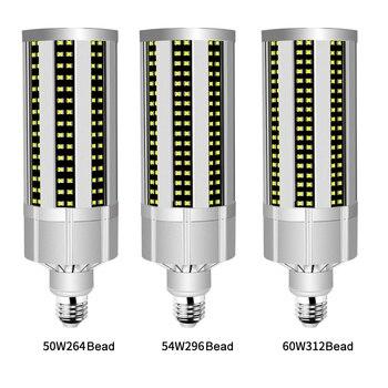 60W Super Bright Corn LED Light Bulb with E27 Large Mogul Base Adapter for Large Area Commercial Ceiling Lighting комплектующие для осветительных приборов kay bright lighting diy e27
