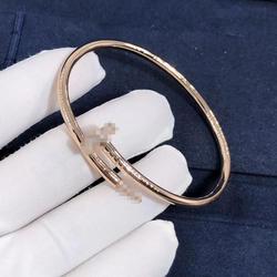 Wholesale high quality Titanium stainless steel Nail bracelet oval Pegs Cuff Bracelet bangle Men's women's classic jewelry